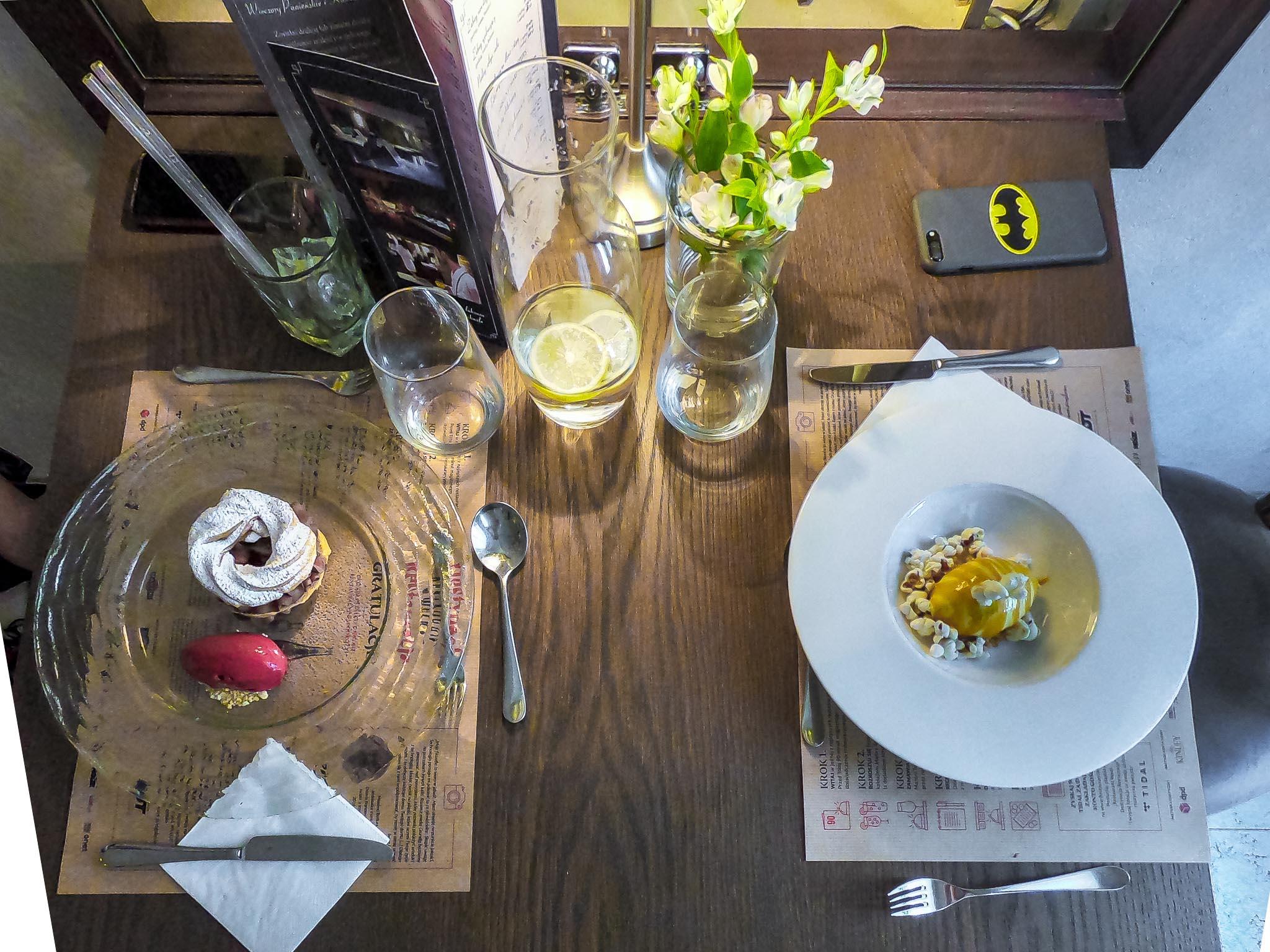 restaurant week hotel alter, lublin, jedzenie, food