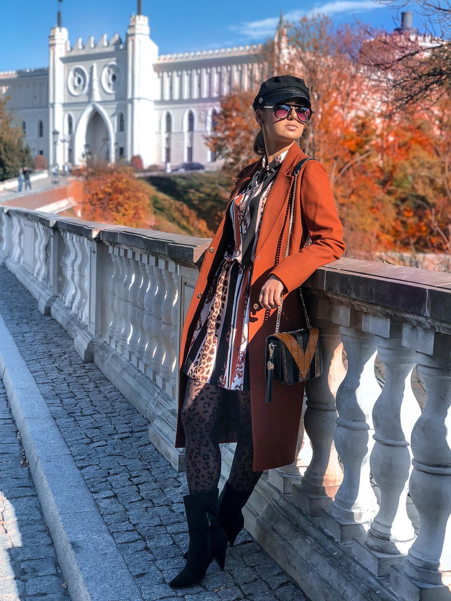 zamek lubelski, lublin, zamek, jesien, moda, trendy, stare miasto