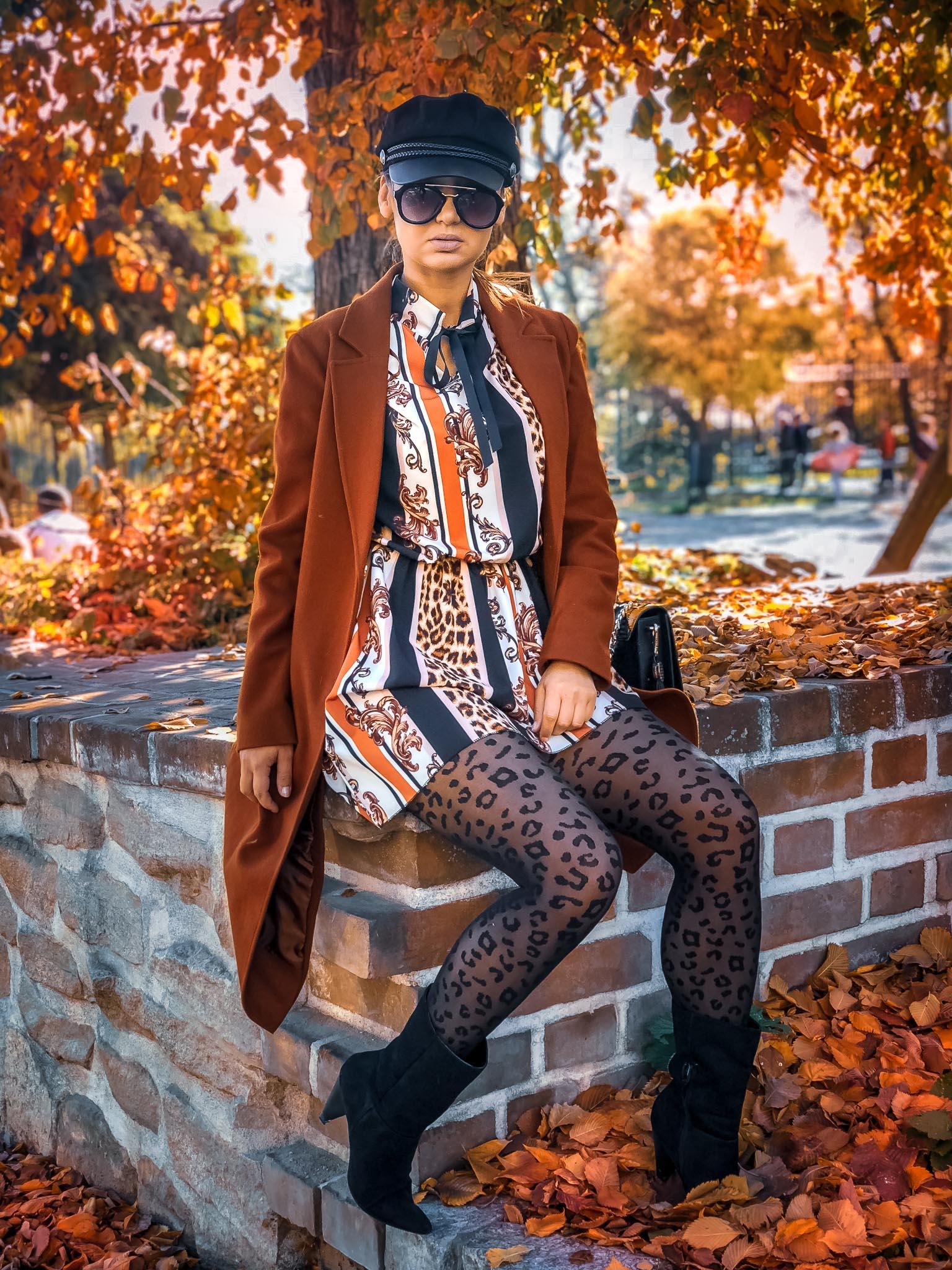 jesienne ootd, animal print, leopard, fashion, moda, lublin