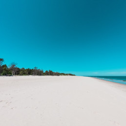 Dzika plaża w Juracie