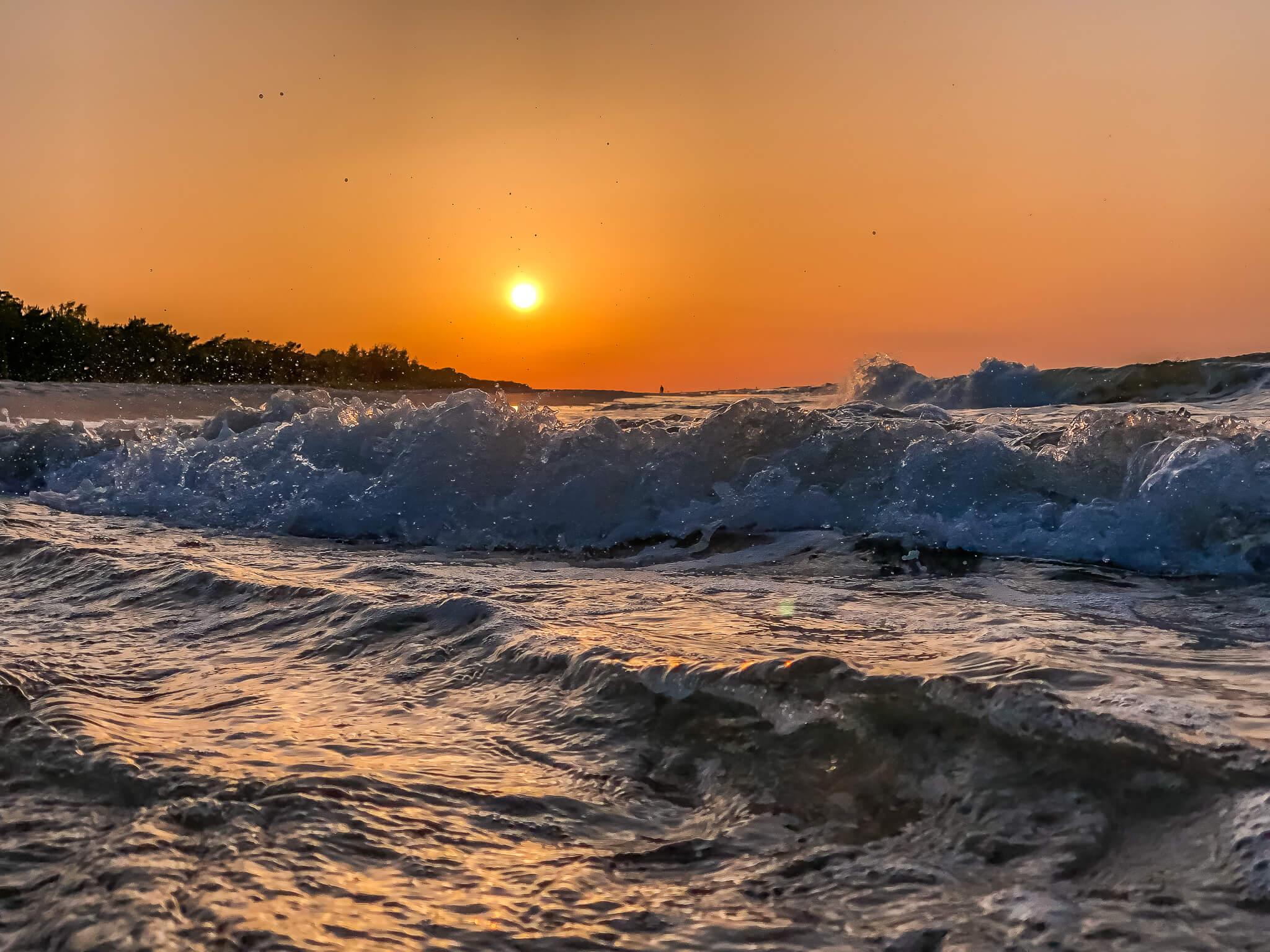 zachód słońca Jurata golden hour