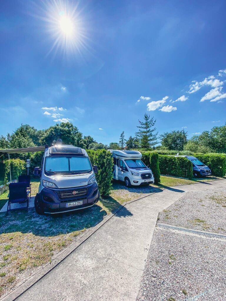 Camping w centrum Mikołajkach - Camper Park